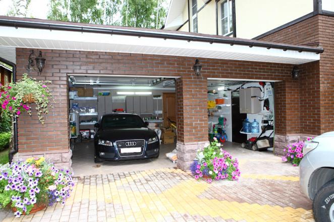 Интерьер гаража - фото
